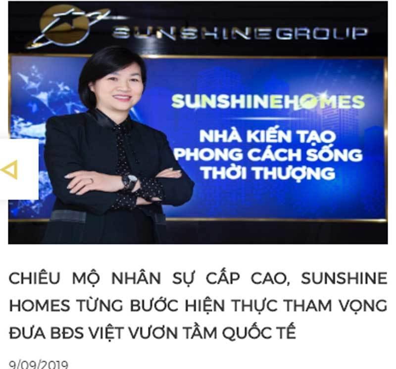 nữ doanh nhân,Dương Thị Mai Hoa,Phạm Nhật Vượng,Nguyễn Thị Phương Thảo,Vingroup,Sunshine Group