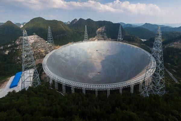 Trung Quốc,tín hiệu bí ẩn,ngoài Trái đất,kính viễn vọng