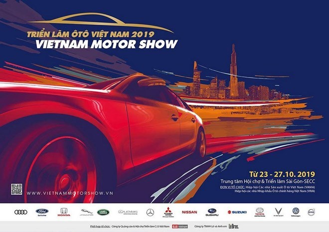 Vietnam Motor Show 2019 to take place in HCM City next month