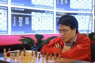 Top VN chess players Quang Liem, Truong Son compete at World Cup