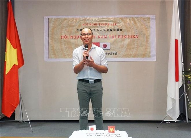 Vietnamese Association in Fukuoka formed