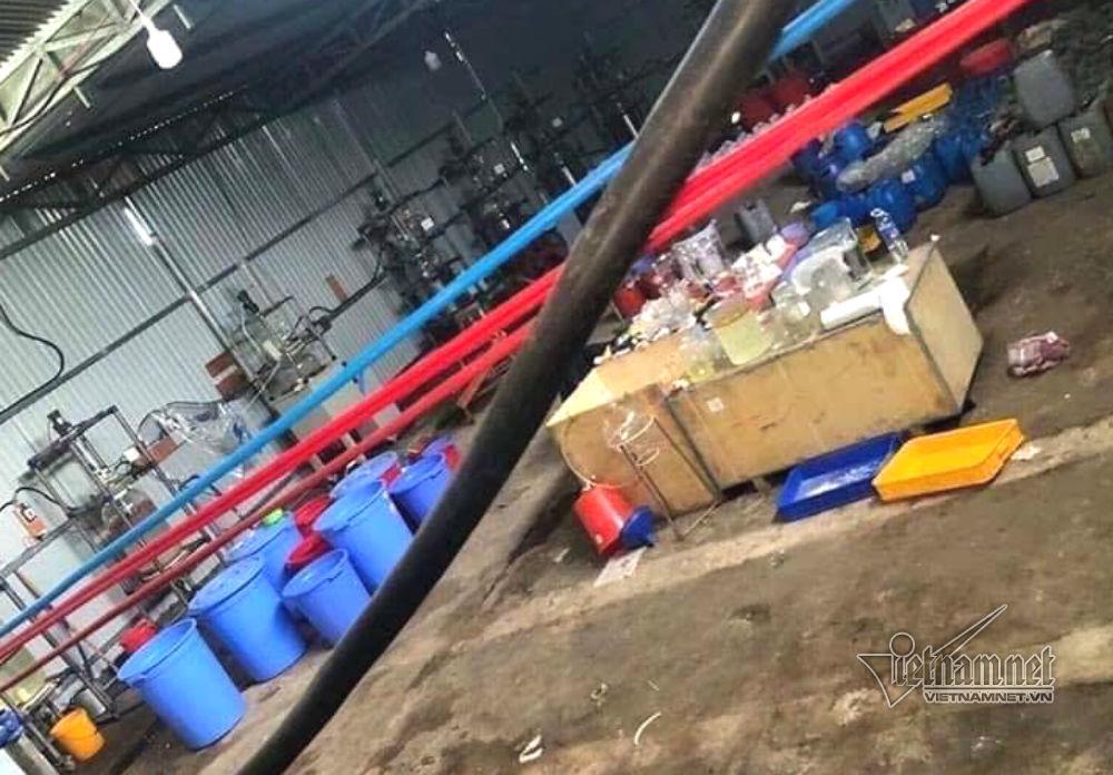 Xóa sổ 'xưởng' sản xuất ma túy cực lớn do người Trung Quốc điều hành