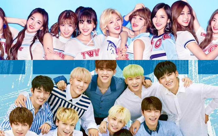 Sao Hàn,TWICE,Blackpink,Seventeen,Yoona,Irene,G-Dragon