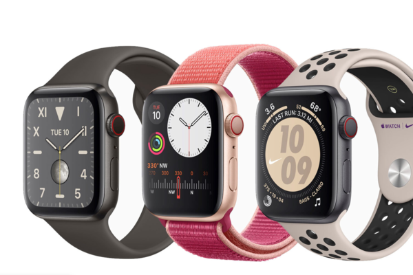 Apple Watch 5,Apple Watch,Apple,Smartwatch,Đồng hồ thông minh