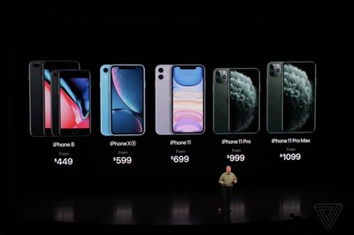 iPhone 11, iPhone 11 Pro và iPhone 11 Pro Max có giá bao nhiêu?