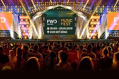 Màn trở lại hoành tráng của FWD Music Fest