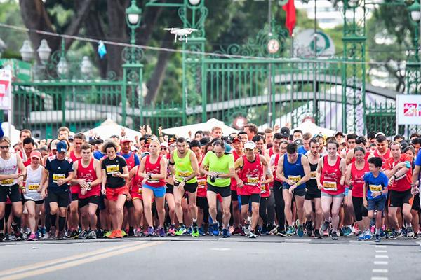 chạy bộ,giải marathon