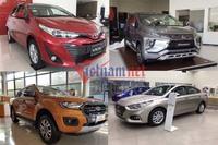 10 mẫu xe ăn khách nhất Việt Nam: Tụt doanh số đồng loạt