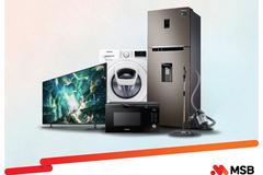 Mua đồ công nghệ Samsung, chủ thẻ quốc tế MSB được giảm giá, hoàn tiền