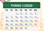 Sẽ nghỉ Tết Nguyên đán Canh Tý 7 ngày, từ 29 tháng Chạp