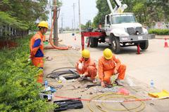 Điện lực miền Bắc tăng cường nhiều giải pháp trong mùa mưa bão