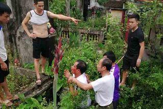 Người đàn ông bị đánh bươu đầu vì nghi bắt cóc trẻ em ở Hà Nội