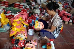 Mid-Autumn toy making village in Hung Yen