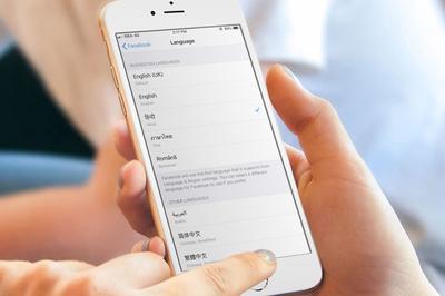 Cách đổi ngôn ngữ của một ứng dụng nhưng không đổi ngôn ngữ hệ thống iOS 13