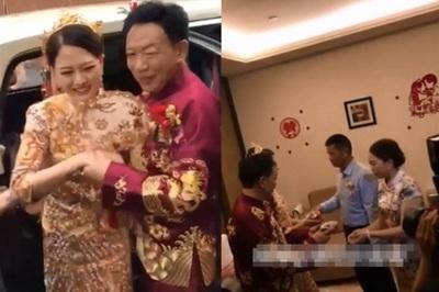 Đám cưới toàn siêu xe của cô dâu 26, chú rể 62 gây xôn xao dư luận