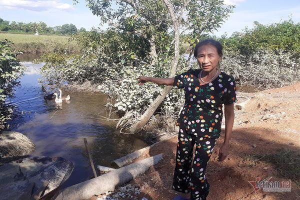 Trưởng thôn ở Hà Tĩnh kể phút tận mắt thấy cá sấu 2m nổi trên sông