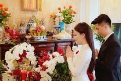 Lễ dạm ngõ của nữ giảng viên Hà Nội nổi tiếng xinh đẹp, quyến rũ