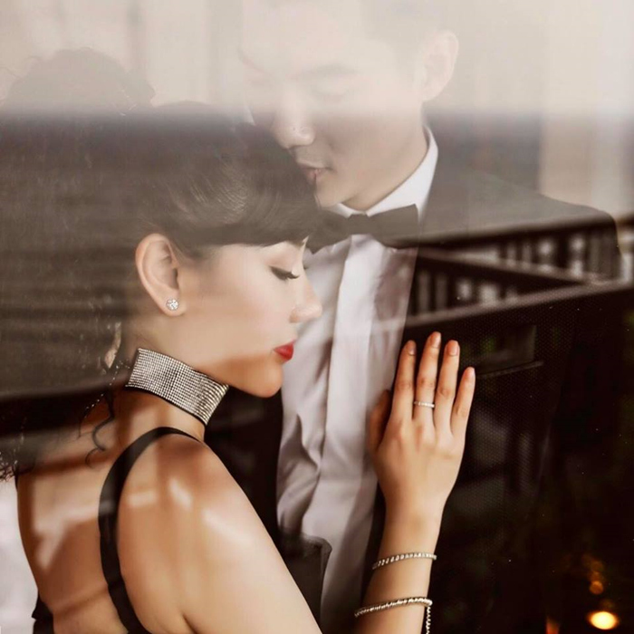 Trương Nam Thành lần đầu tiết lộ ảnh hai con sinh đôi với vợ đại gia hơn 15 tuổi