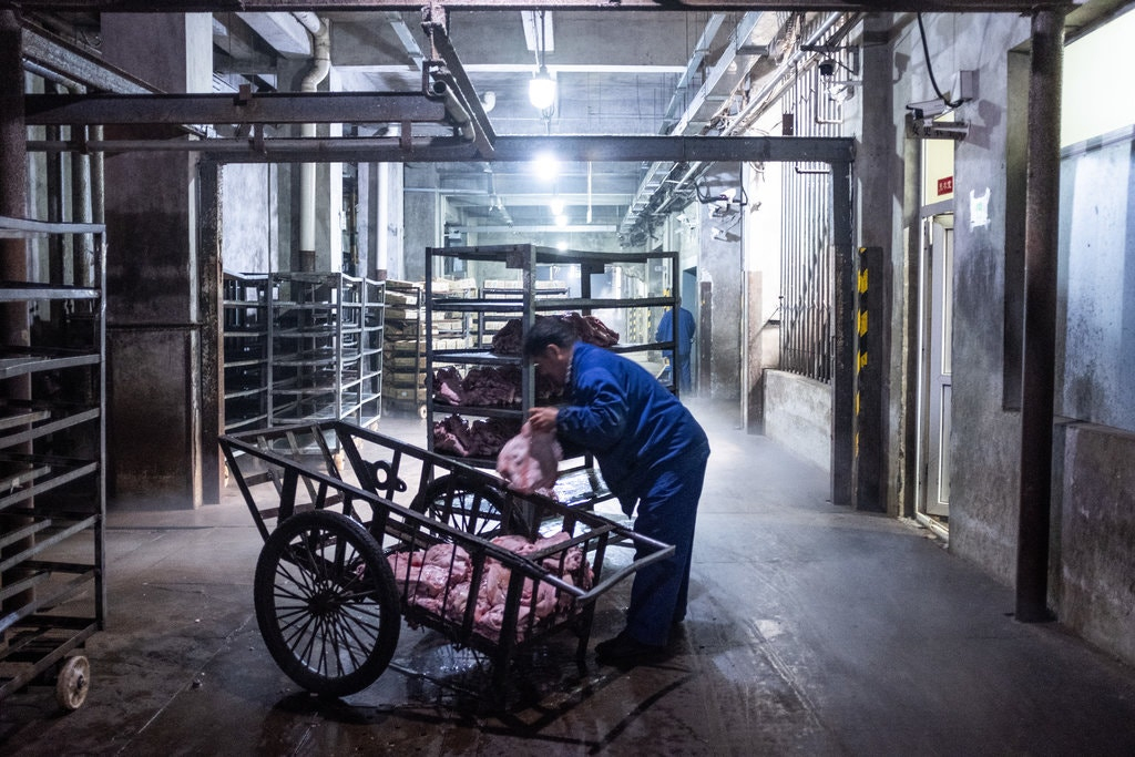 thịt lợn,giá thịt lợn,Trung Quốc
