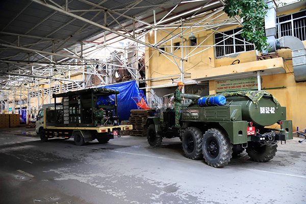 nhà máy Rạng Đông,cháy lớn ở Hà Nội,thủy ngân