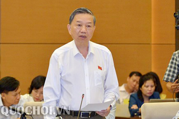 Tô Lâm,mạng xã hội,an ninh mạng,bộ trưởng công an