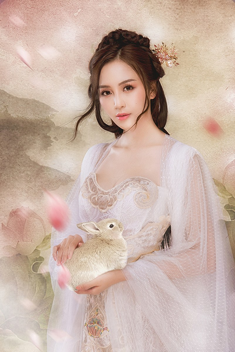 Hoa khôi Hải Yến hóa chị Hằng trong bộ ảnh mới