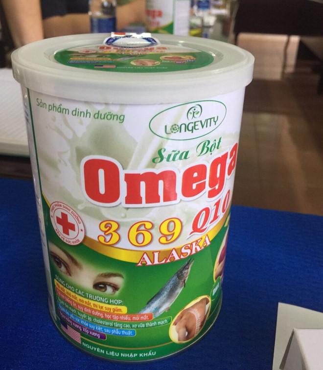 Thu giữ 5.000 hộp sữa bột Omega 369 Q10 Alaska không đạt chuẩn