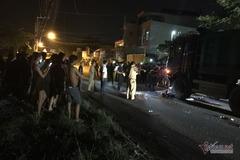 Xe ben chạy vào giờ cấm, tông kéo lê người lái xe máy chết tại chỗ