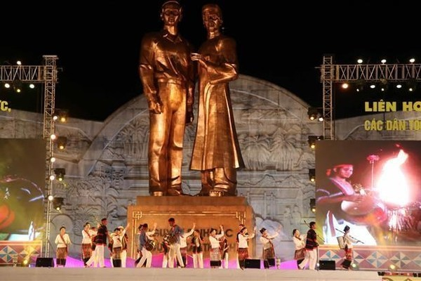 Binh Dinh hosts first Gong cultural festival