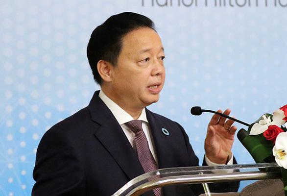 Bộ trưởng Trần Hồng Hà sống gần Rạng Đông, khuyên dân yên tâm