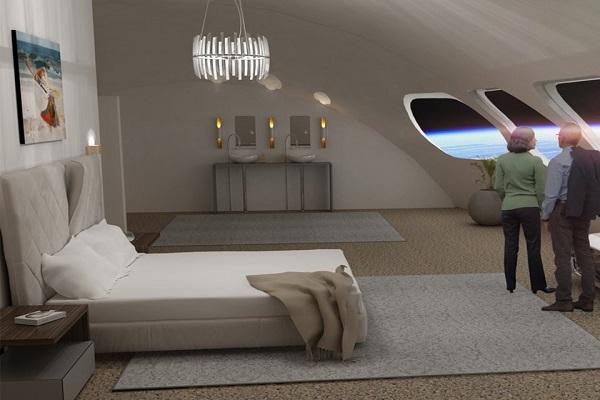 Chán Trái đất, vậy ngủ trong khách sạn giữa vũ trụ thì sao?
