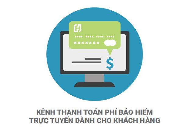 thanh toán trực tuyến,bảo hiểm nhân thọ