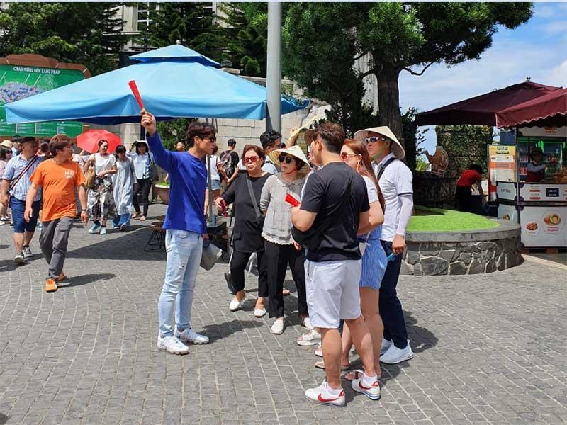 tour 0 đồng,khách Hàn Quốc