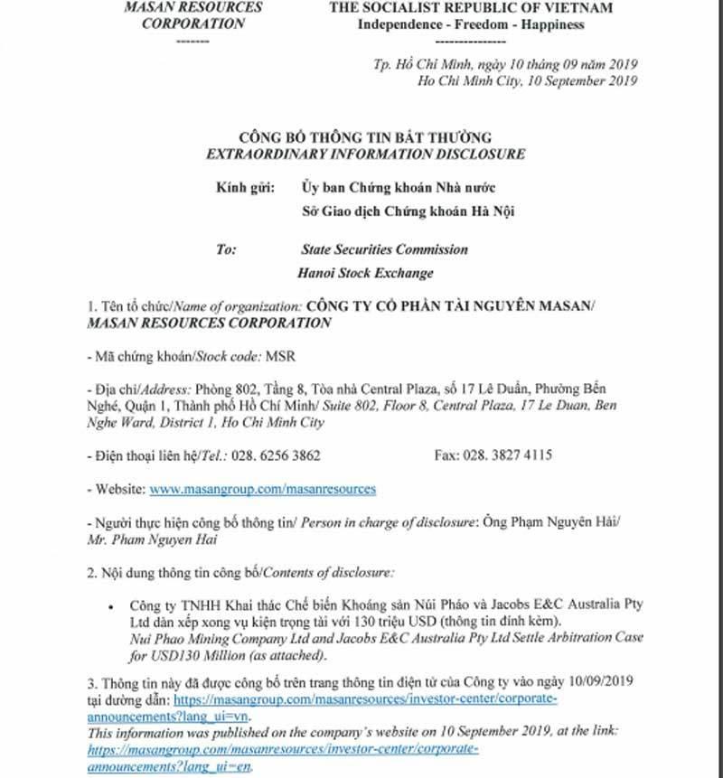 Thắng vụ 3 ngàn tỷ, tỷ phú Nguyễn Đăng Quang tiến vào mỏ tỷ USD