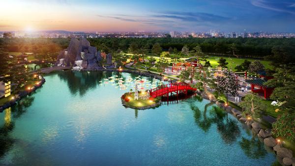 Vườn Nhật Vinhomes Smart City - 'kỳ quan' mới giữa lòng Hà Nội