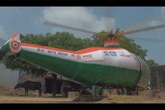 Xem trực thăng tự chế bằng phế liệu của con trai nông dân