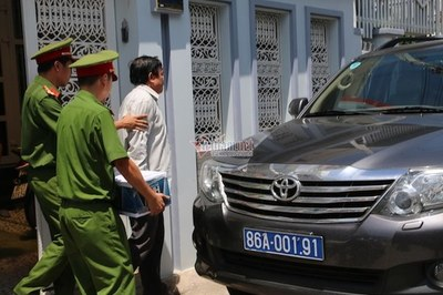 Bắt giam, khám nhà Phó chủ tịch TP Phan Thiết Trần Hoàng Khôi