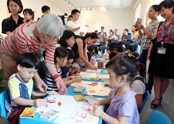Author Nagano Hideko,picture books,painter,friend to Vietnamese children,entertainment news,what's on,Vietnam culture,Vietnam tradition,vn news,Vietnam beauty,Vietnam news,vietnamnet news,vietnamnet bridge,Vietnamese newspaper,Vietnam latest news,Vietname