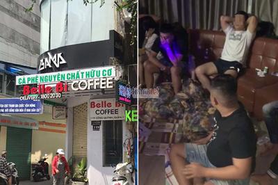 Đột kích quán cà phê bí ẩn giữa quận 1, dân chơi kéo vào rồi mất hút