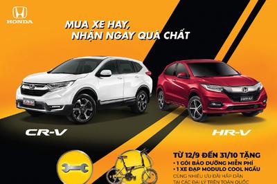 Honda Việt Nam tặng quà 'khủng' cho khách mua CR-V và HR-V