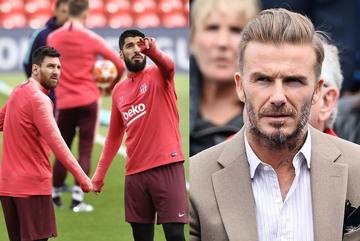 Đội bóng của Beckham chiêu mộ Messi lẫn Luis Suarez