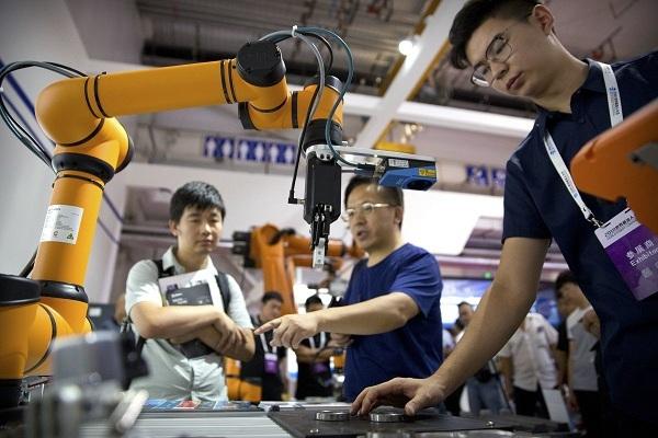 Trung Quốc,Mỹ,Nhật Bản,công nghiệp,robot,Made in China 2025