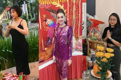 Sao Việt bị chê mặc lố, hở hang khi cúng Tổ nghề