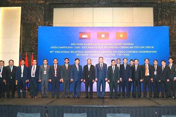 VN, Cambodia, Laos enhance drug control co-operation