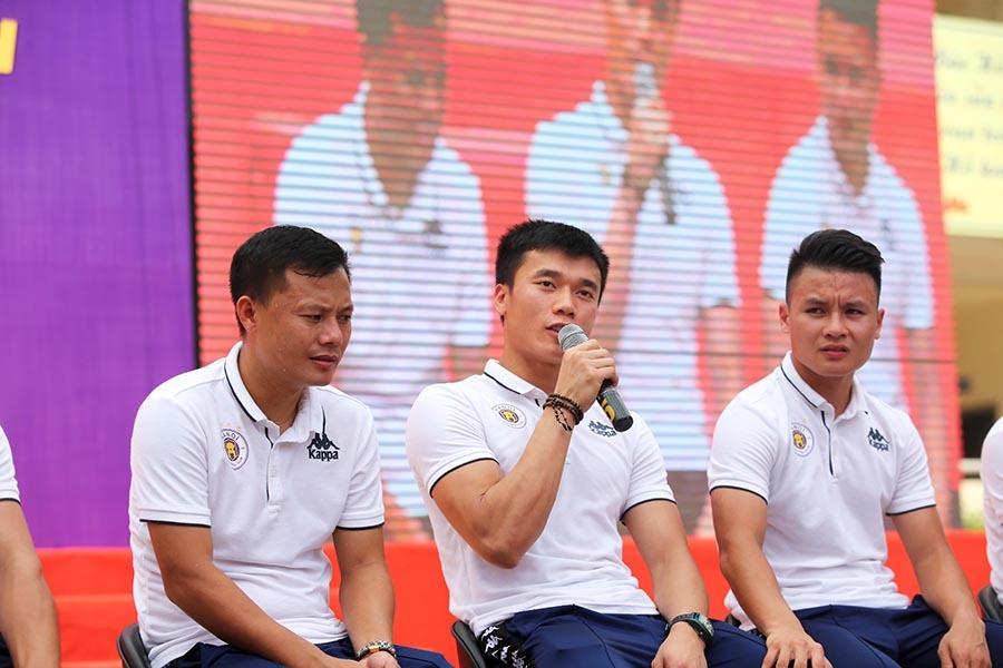 Quang Hải,Tiến Dũng,Hà Nội FC