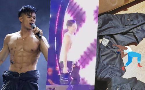 Sao Việt và những lần rách quần, tụt váy trên sân khấu vì biểu diễn quá sung