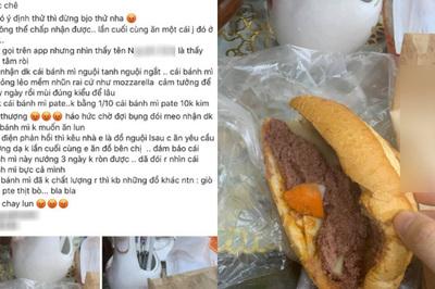 'Bóc phốt' tiệm bánh mỳ nổi tiếng, cô gái bất ngờ bị dân tình chê ngược