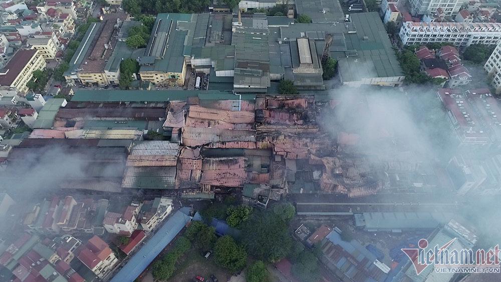 Cháy nhà máy Rạng Đông: 'Phát lộ' việc xin chuyển đổi đất không thành