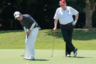 Tài xế lái Ford Focus 'đốt lốp' trong sân golf của ông Trump