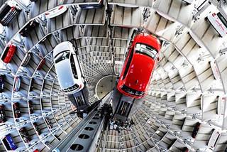 Bãi đỗ xe tự động cao 26 tầng có sức chứa 208 ôtô